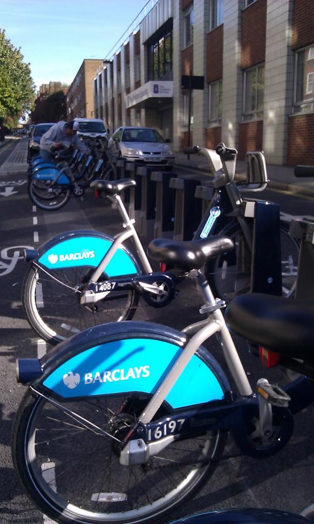 Barclays Bikes - Erfindung des Jahres!